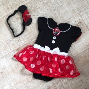 Disney baby Minnie mouse costume